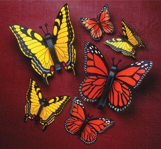 All Yard Garden Projects Giant Yard Butterflies Wood Pattern