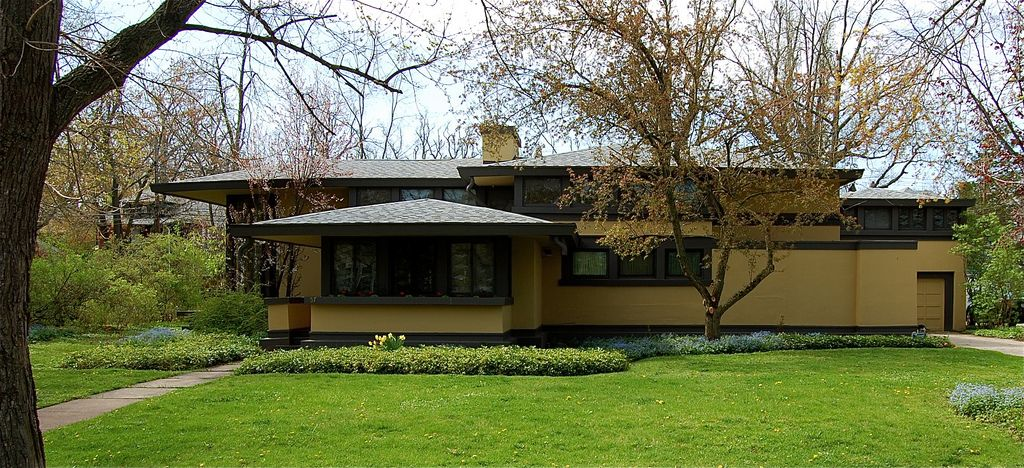 Frank Lloyd Wright, Davidson House, Buffalo | Flickr - Photo Sharing!