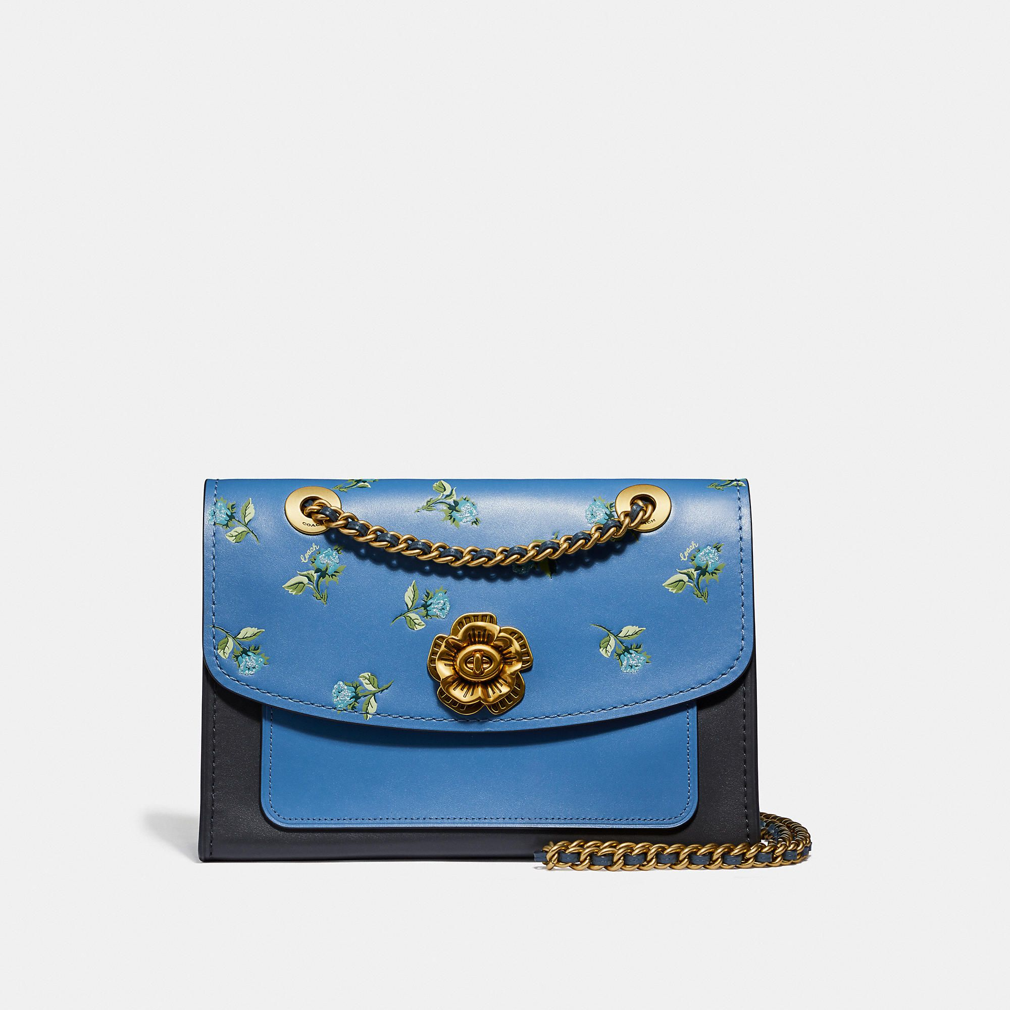 1b5d054e Parker with floral print | Products in 2019 | Leather shoulder bag ...