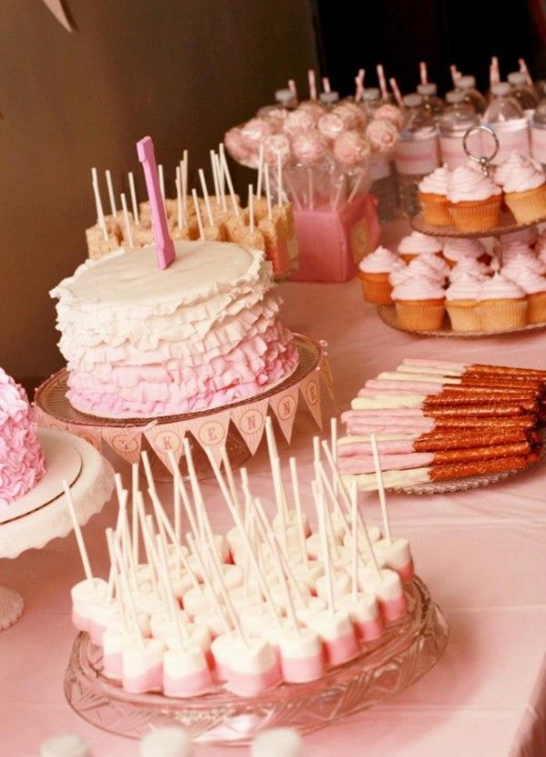 Sweet Birthday Party Desserts Ideas First Birthday Party With