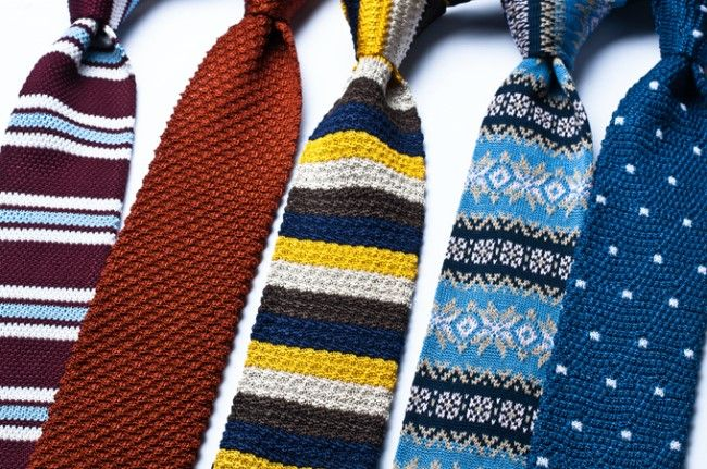tapestry crochet ties ?