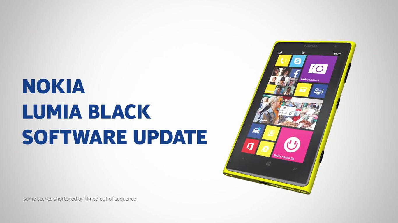 Lumia Black software update premiere Check out this quick