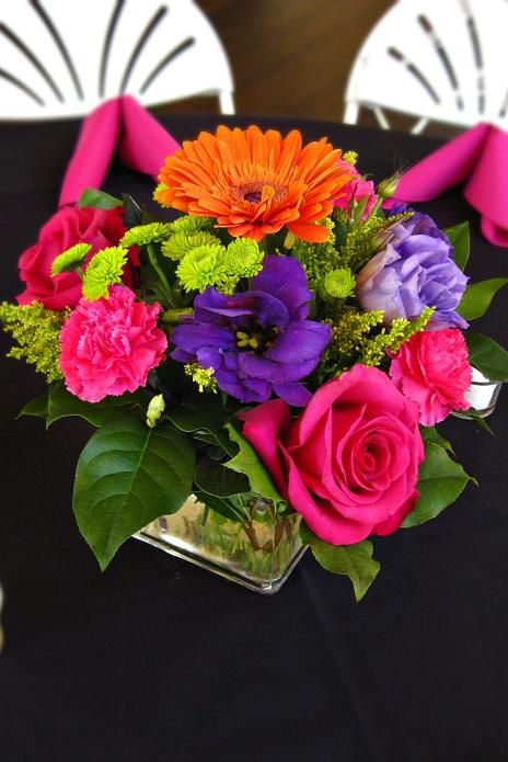 Pink Orange Purple Flowers Google Search