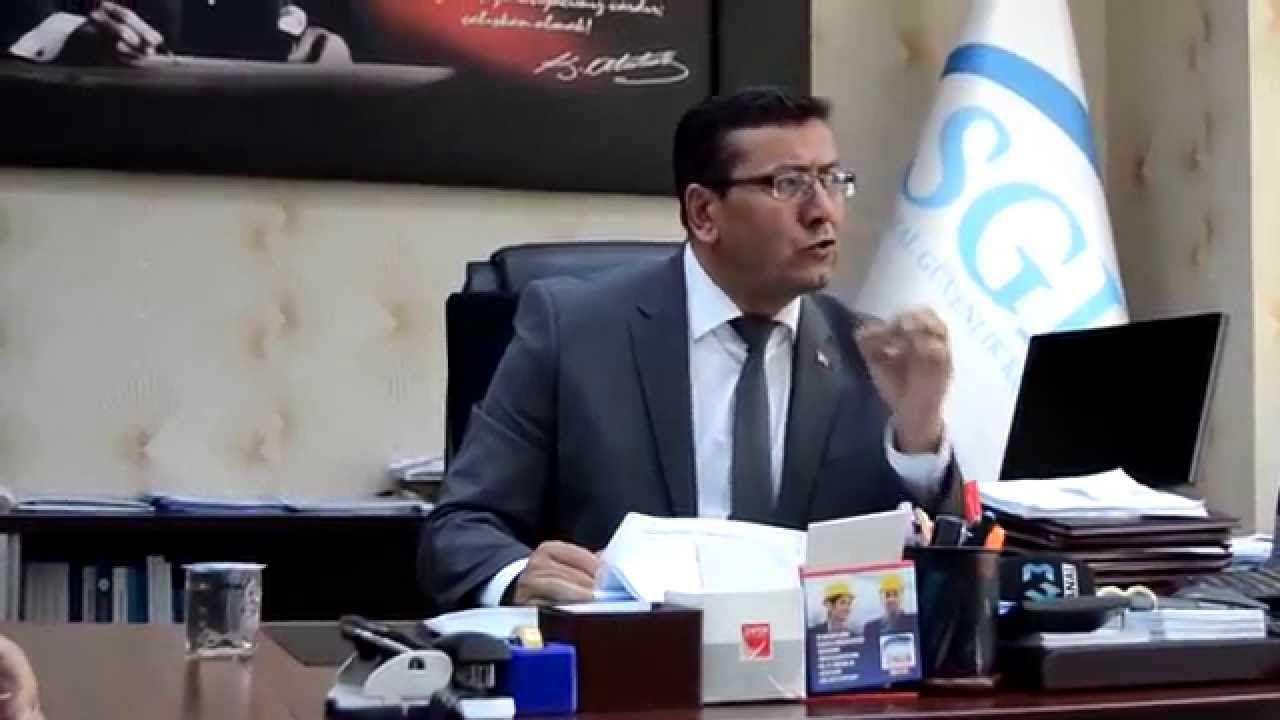 """SGK Müdürü İsmail SAYAR: """"Kütahya'da 130Bin Aktif Çalışan, 112Bin Emekli..."""