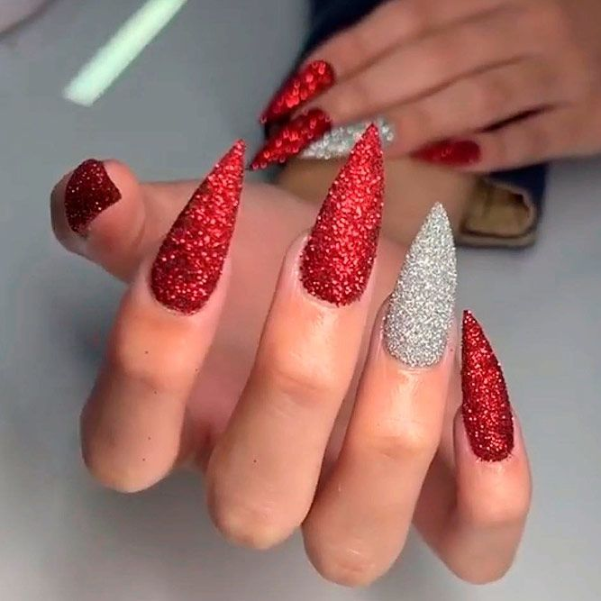 Fantastic Red Nails Ideas For Stylish Ladies Red Nails Red Nail