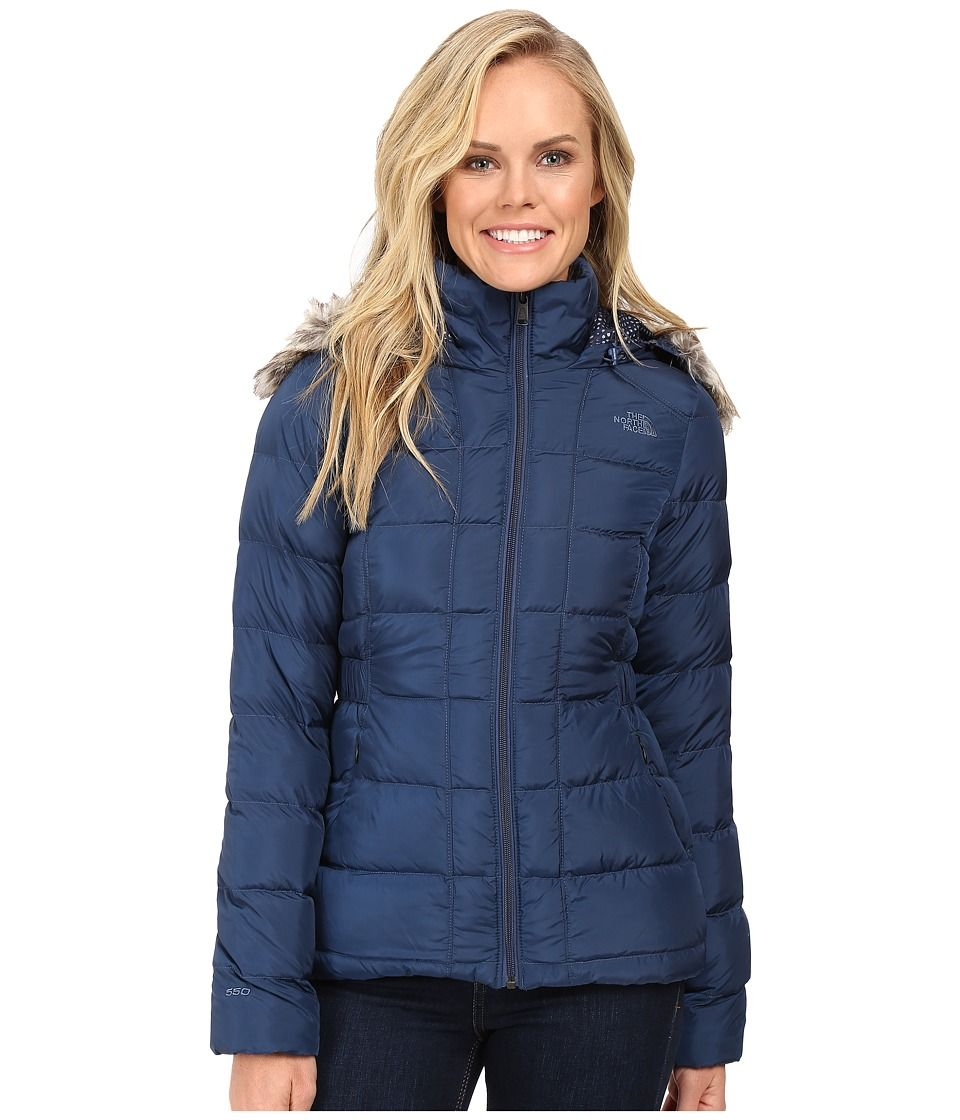 The North Face The North Face Gotham Down Jacket Shady Blue Women S Coat Thenorthface Cloth Jackets Hooded Gilet Coats Jackets Women [ 1120 x 960 Pixel ]