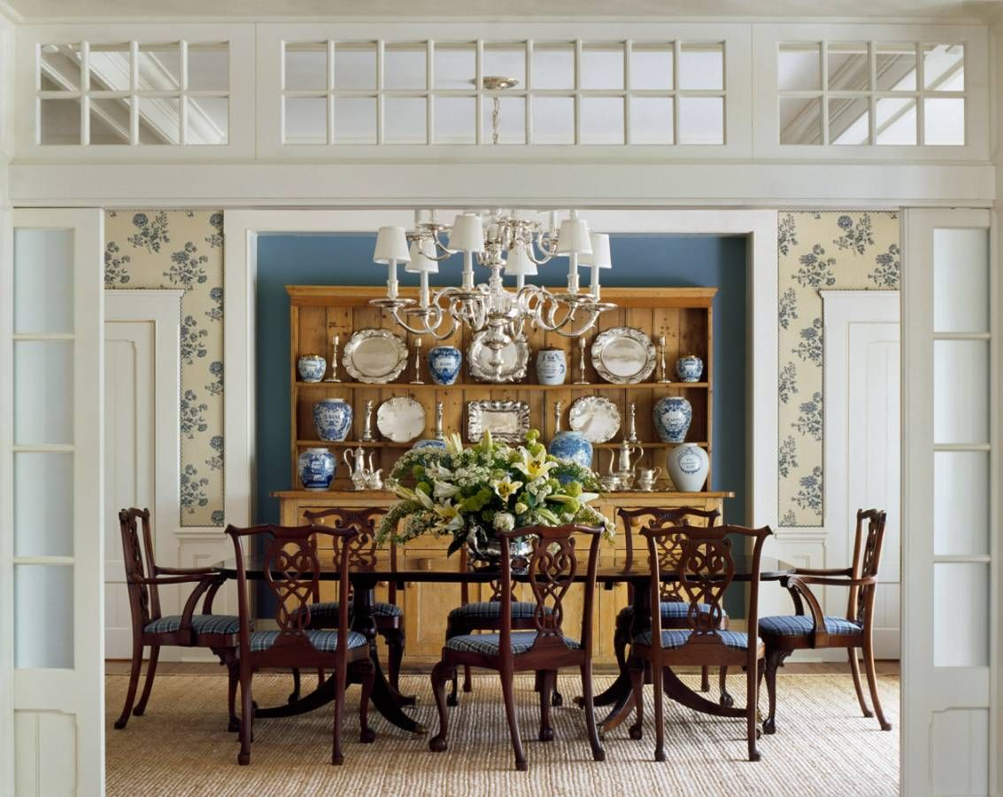 Austin Patterson Disston Architects Portfolio Country Houses Lakeside Country Hou Traditional Dining Room Table Traditional Dining Room Dream Dining Room