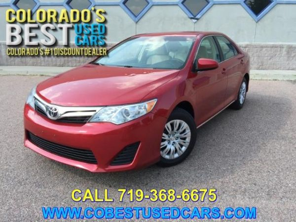 Used 2013 Toyota Camry For Sale In Colorado Springs Co Truecar Toyota Camry For Sale Camry Toyota Camry