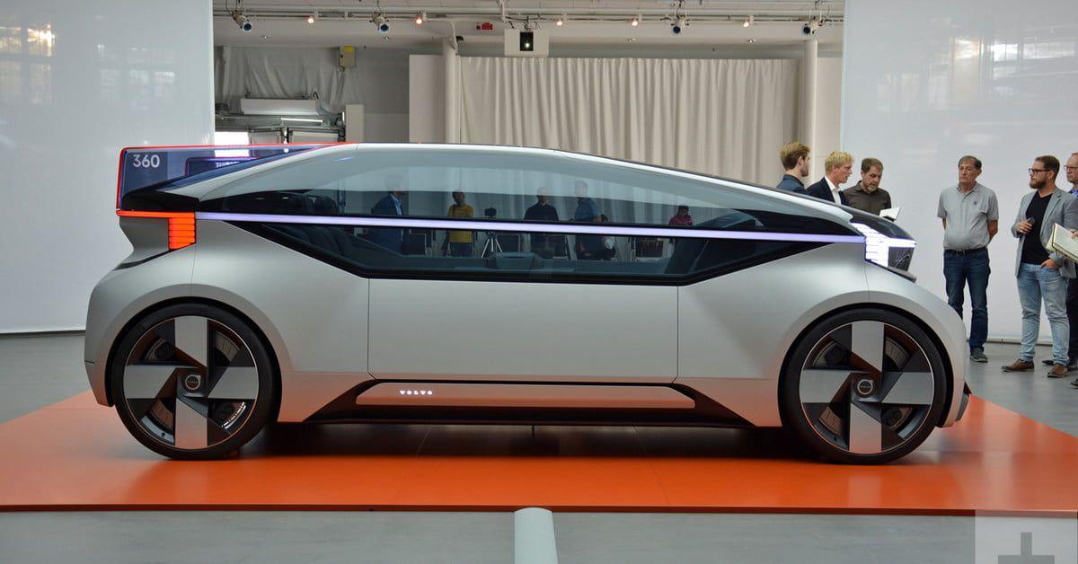 Autonomous Volvo 360c Concept Is The Future Of Commuting Digital Trends Volvo Transportation Design Automotive Design