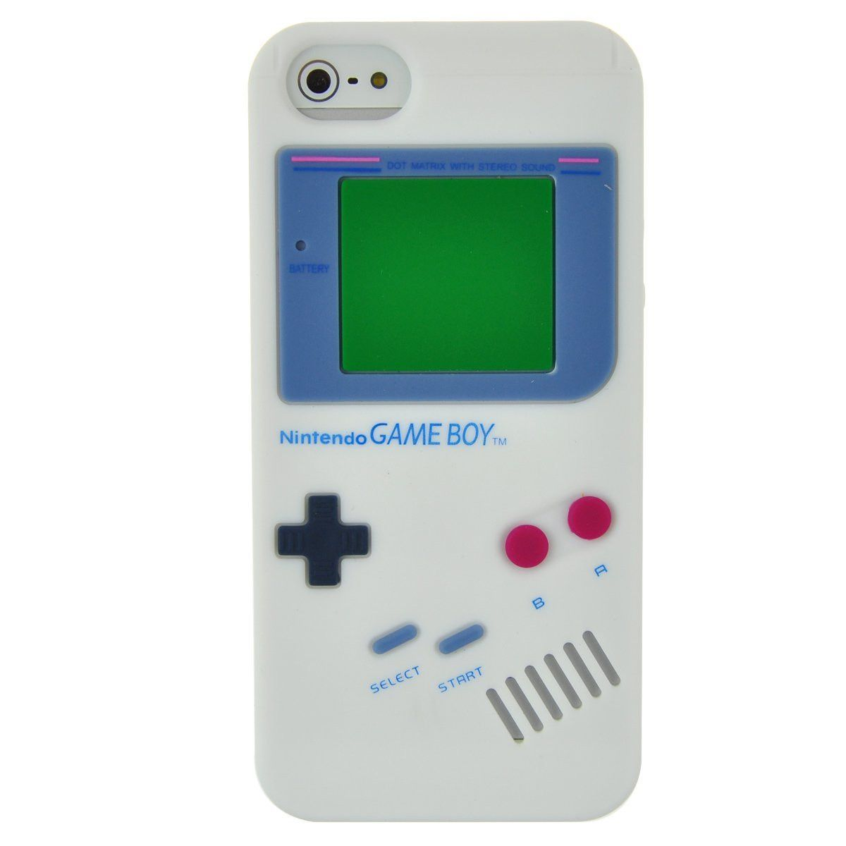 Retro Gameboy Silicone Case for iPhone 5 / 5S *Close-out Sale