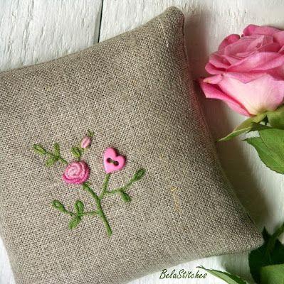 Bela Stitches: len / linen