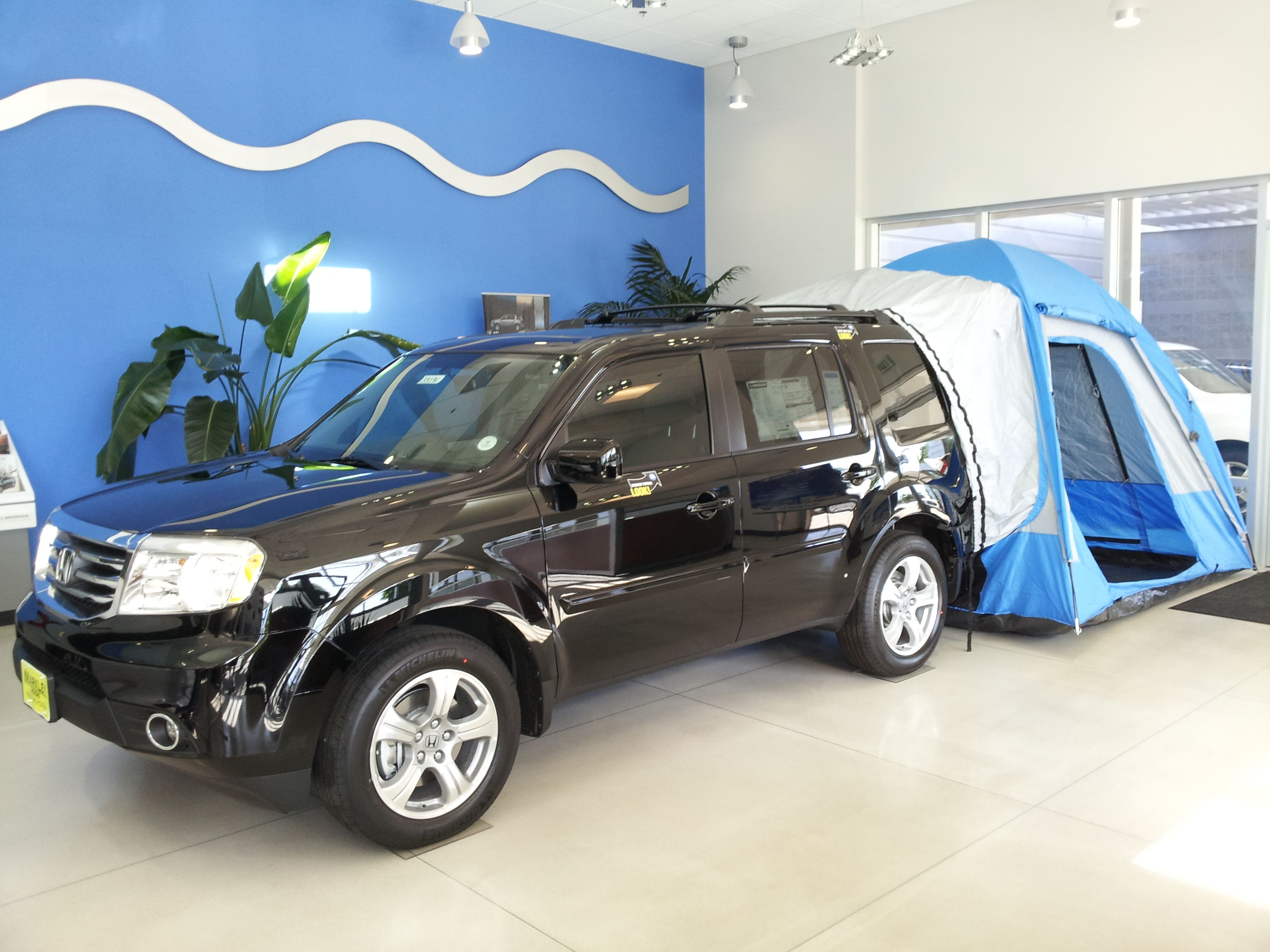 Markley Motors Fort Collins >> Come buy a Pilot, and buy a tent to go camping too ...