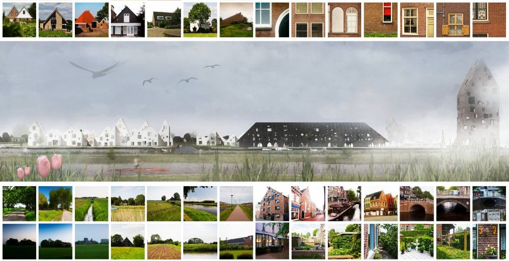 Europan 11 Proposal: Leeuwarden / CUAC Arquitectura, Serrano + Baquero Arquitectos, Luis Miguel Ruiz Aviles