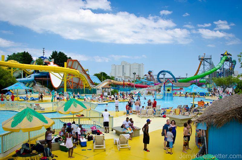 Splash Mountain Water Park at Jolly Roger Amusement Park # ...