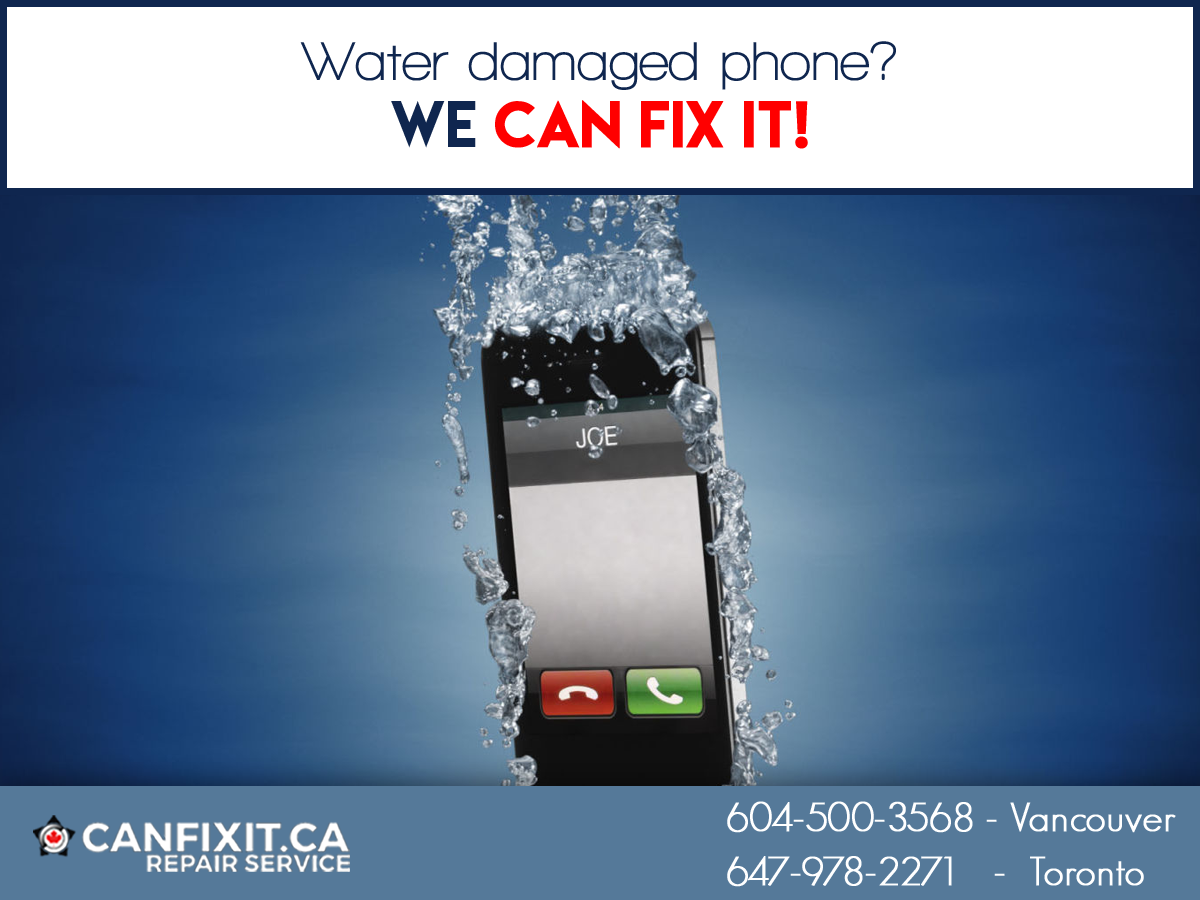 Oops! Did your phone fell in water? We CAN FIX IT! No.1