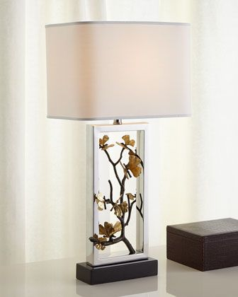 Butterfly ginkgo table lamp by michael aram at horchow