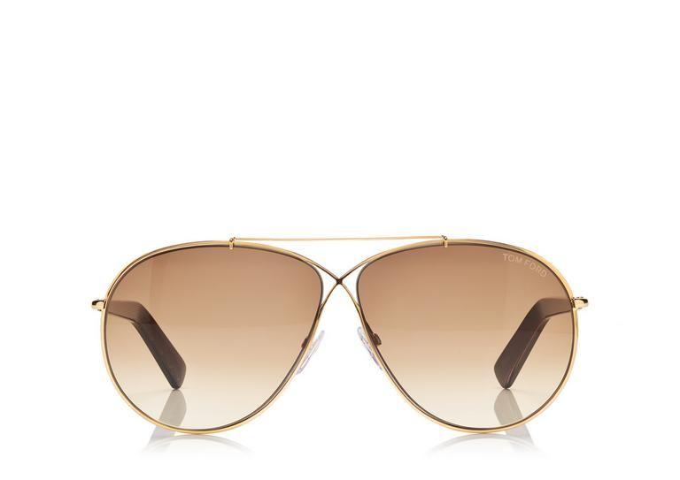 Tom Ford Eva Pilot Sunglasses