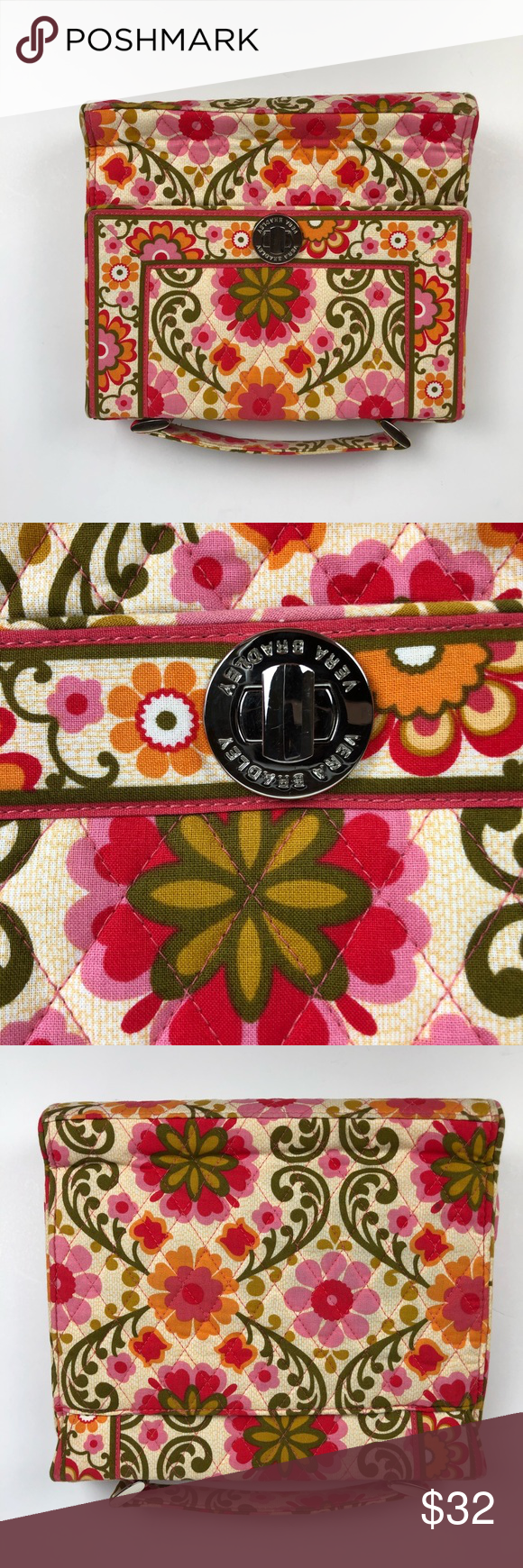e4fe3a2788a4 Vera Bradley Julia Folkloric Retired Handbag Beautiful Vera Bradley ...