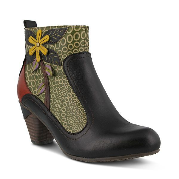 L'Artiste Women'S Black Dramatic-Bm Fashion Boots -  With Box