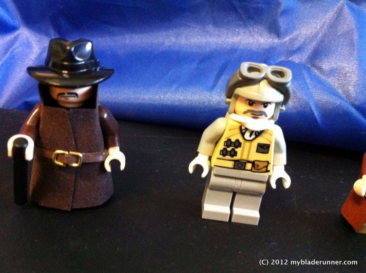 LEGO minifigures  Capt. Bryant and Gaff (or Gaff and Chew!)