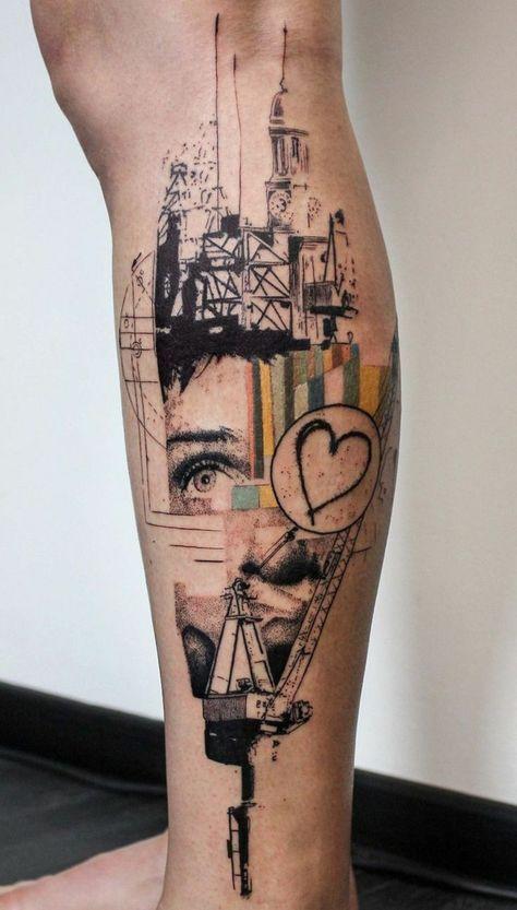 Architektur Tattoo Motive – 108 Ideen & Vorlagen für Designs und Stile