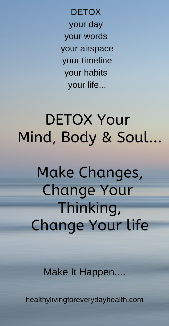 44++ Detox your mind and soul trends