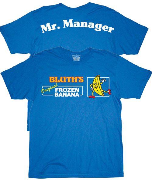 Bluths Original Frozen Banana-Stand Arrested Development T Shirt