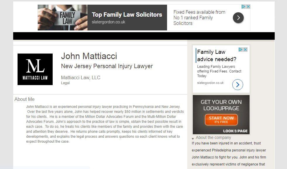 Moorestown Personal Injury Lawyer. http//www.lookuppage