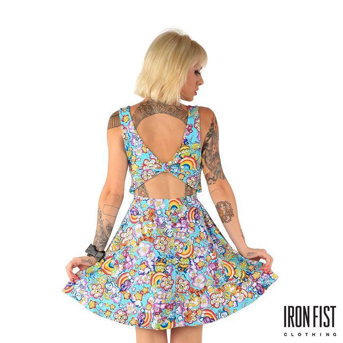 아이언피스트 over the rainbow dress  #ironfist #아이언피스트 #펑키 #유니크 #여자캐주얼 #드레스 #원피스