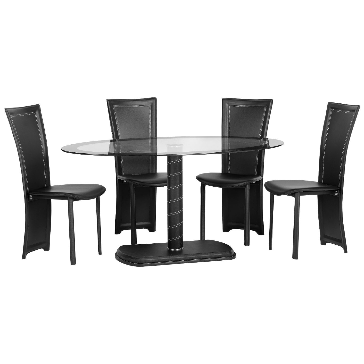 Cameo 4 Seater Oval Dining Set Next Day Delivery