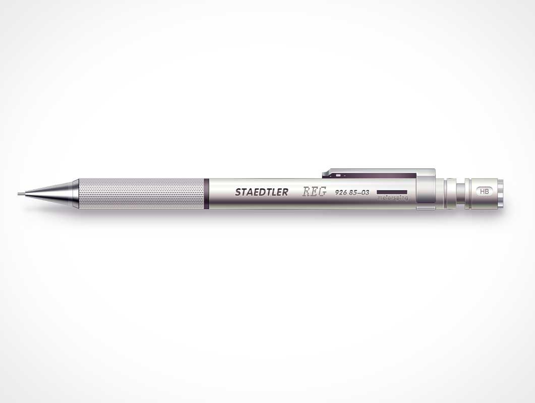 Free Mechanical Pencil Design Mockup In Psd Mechanical Pencil Design Mockup Psd Mechanical Pencils Pencil Design Mockup Design