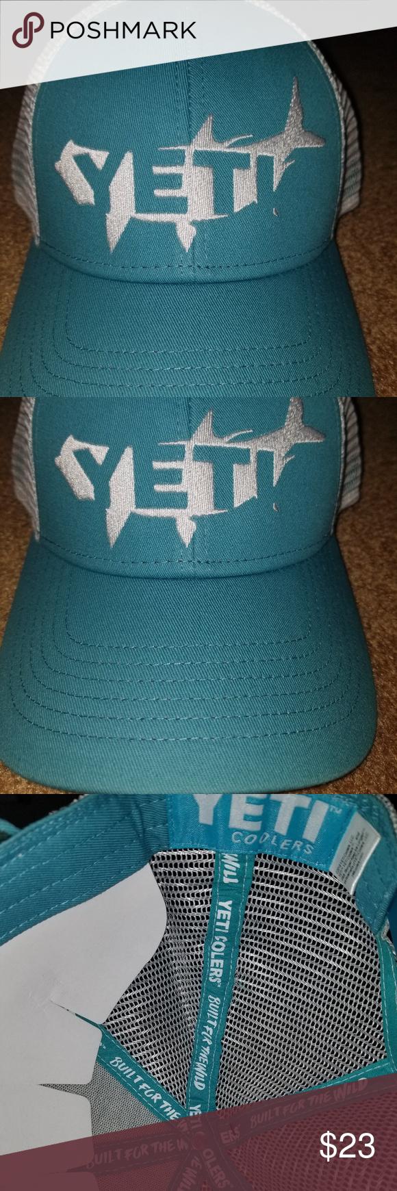 df24f4397a983 Yeti Coolers trucker hat Yeti Coolers Tarpon Trucker Hat Yeti Accessories  Hats