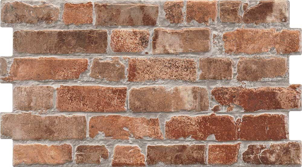 Rustic Masonry Classic Red Brick Effect Tiles Brick