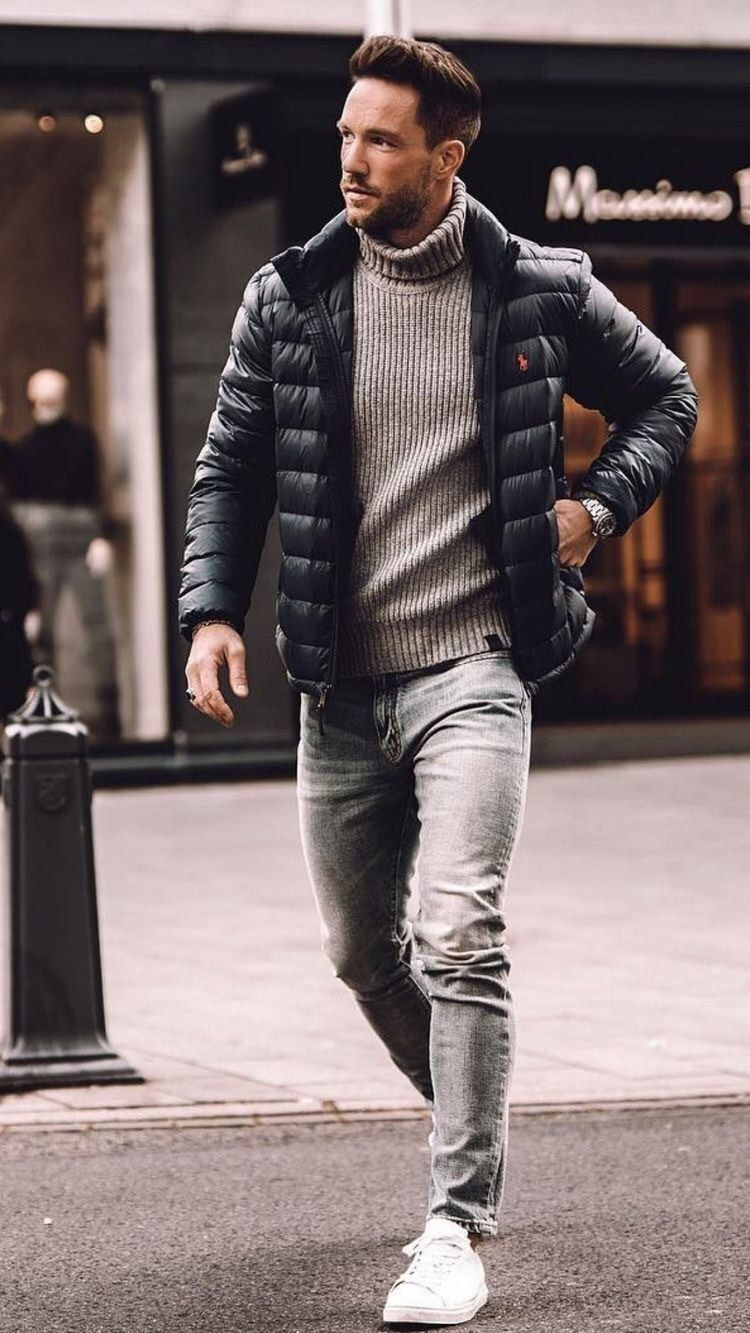 38 Comfy Winter Fashion Outfits for Men in 2019