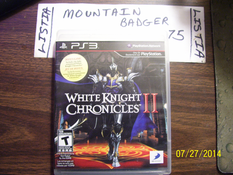 PS3 - White Knight Chronicles II (2)