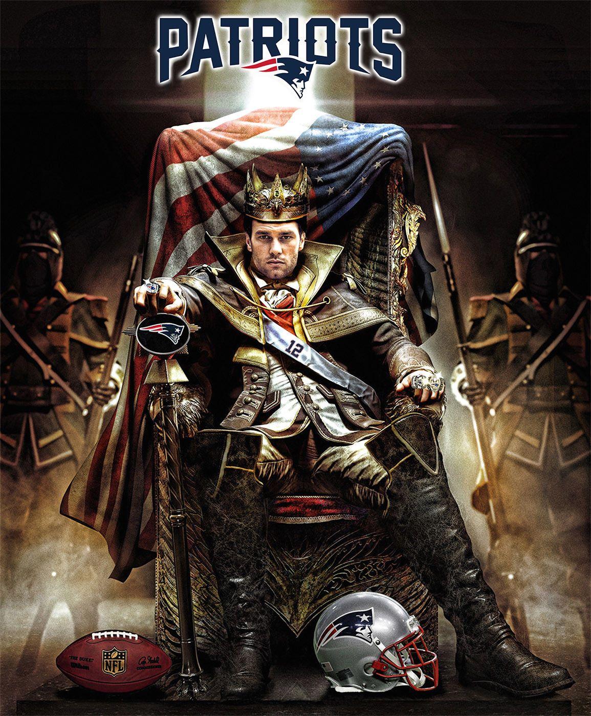 Tom Brady Game Of Thrones American Patriot New England Patriots 30 X24 Poster New England Patriots England Patriots Nfl New England Patriots