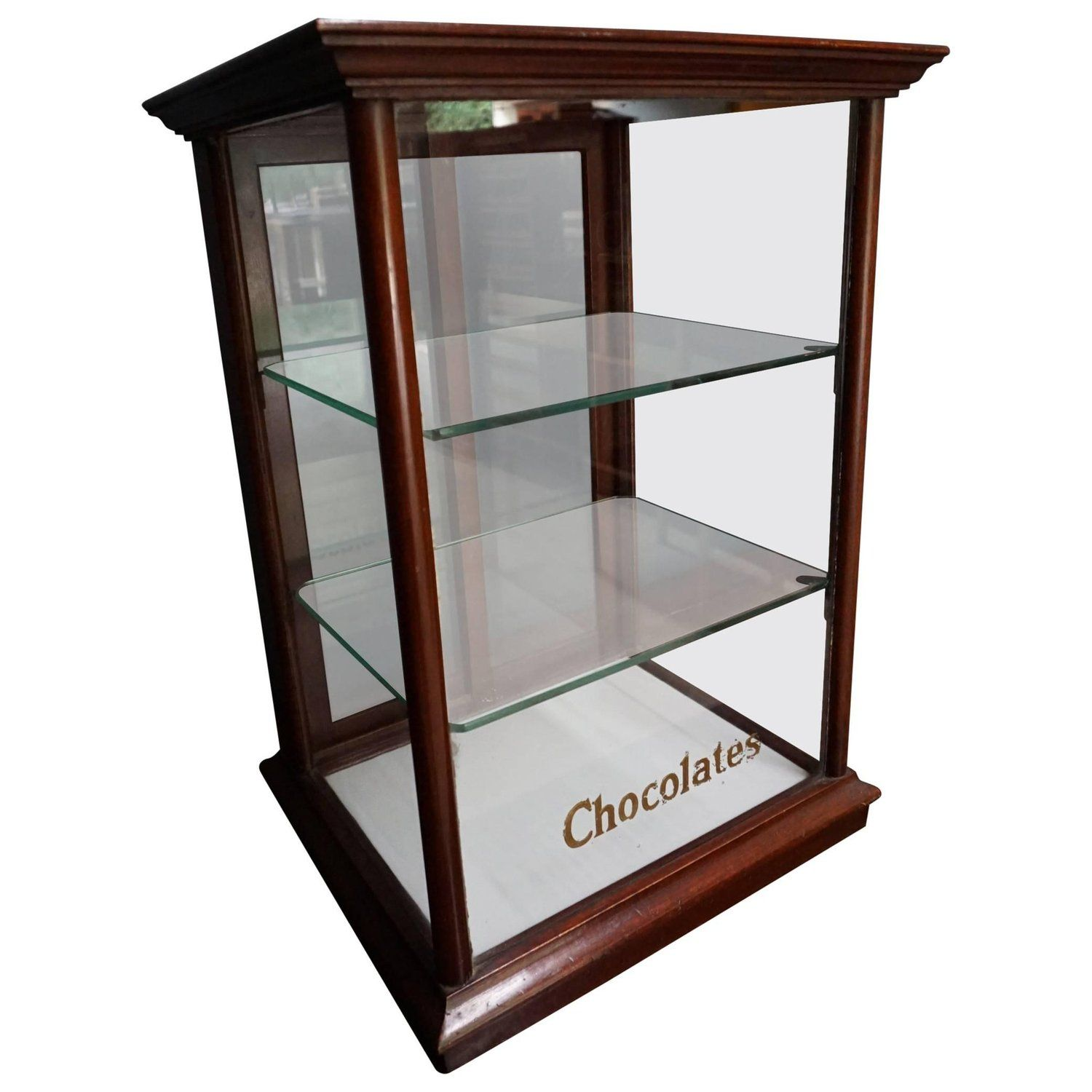 Bakery Display Cabinet Mahogany Cadbury S Counter Top Chocolate Shop Display Cabinet