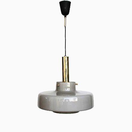 Graue Hängelampe, 1950er Jetzt bestellen unter   moebel - Led Deckenlampen Küche
