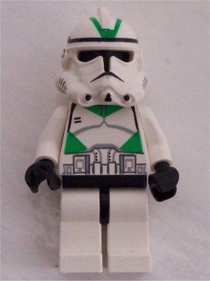 Lego Star Wars Clone Trooper Ep 3 Green Markings 6559903017 Oficjalne Archiwum Allegro Lego Star Wars Star Wars Clone Wars Black Friday Toys