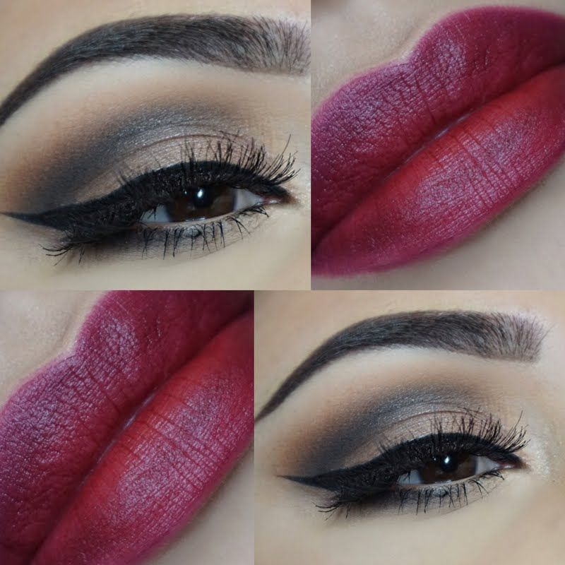 Melissa Entices Using Her Gifted Avon True Color Perfectly Matte