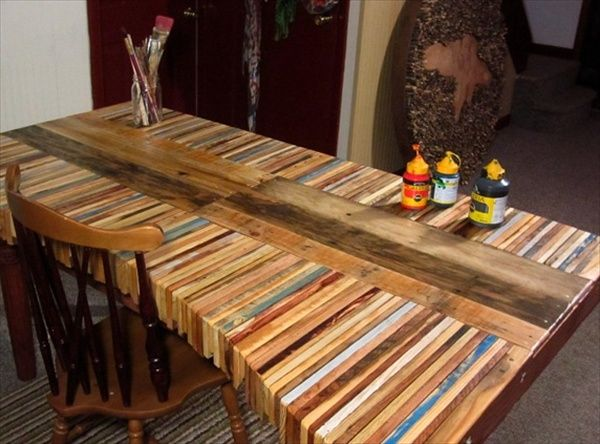 The Recycled Pallet Dining Table 16 Perfect Ideas Pallet Table