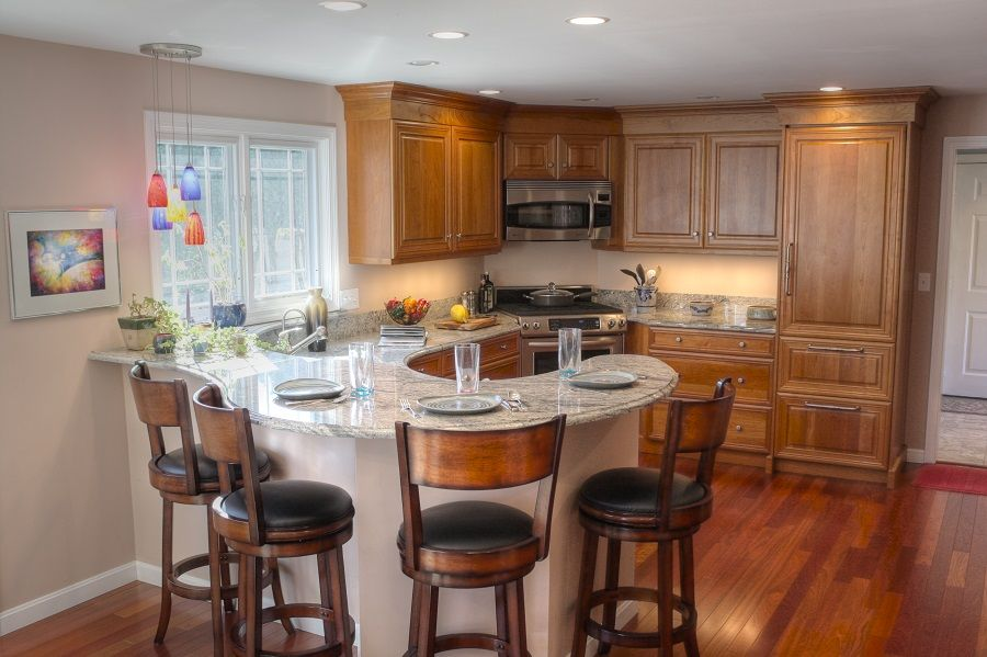 Great Curved Island Kitchen Pinterest Curves Kitchens And House
