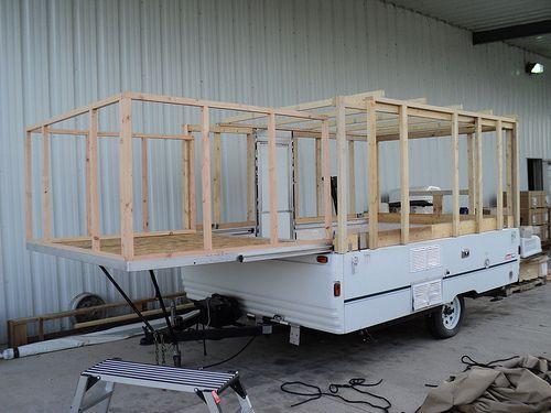 Decorating A Pop Up Camper   Structural ideas for converting a pop up camper. Decorating A Pop Up Camper   Structural ideas for converting a pop