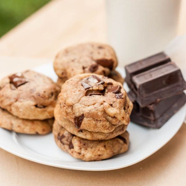 Peanut Butter and Chocolate Chunk Cookies