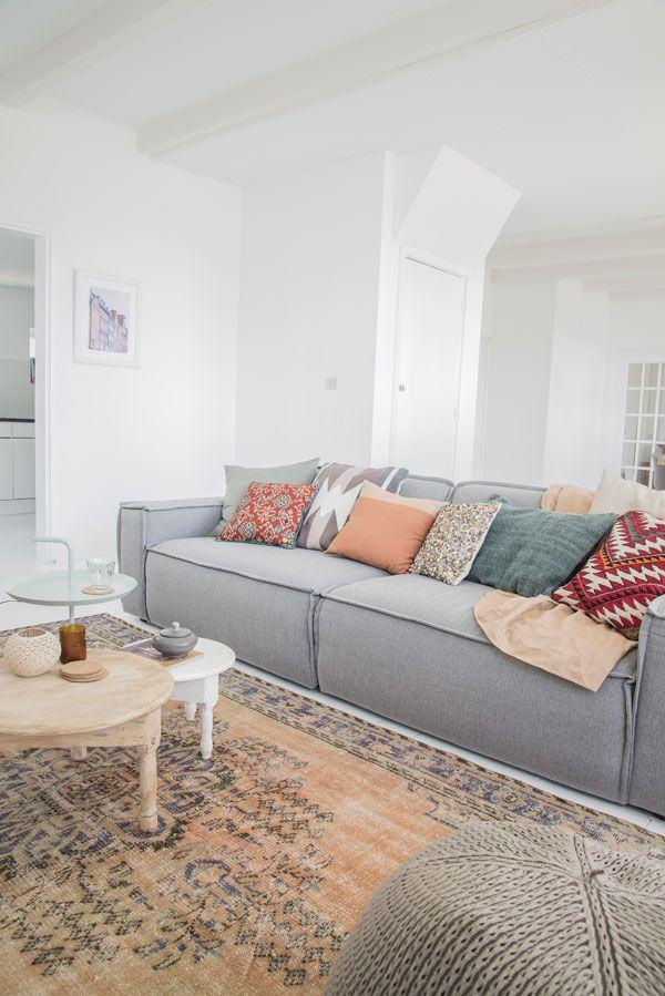 mooie lichte woonkamer   Ideeën voor het huis   Pinterest   Banks