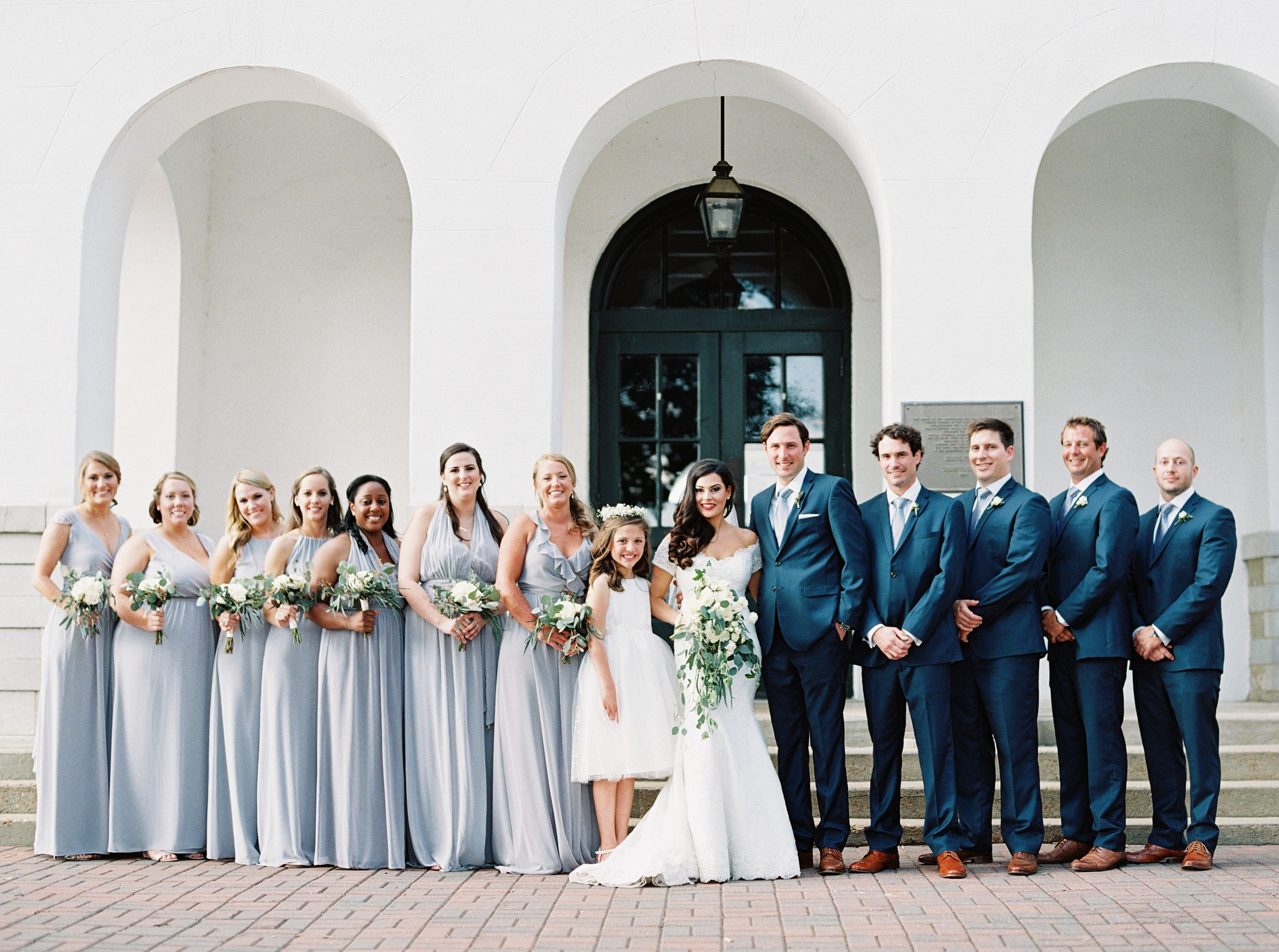 Bridal Party Oxford Ms Downtown Square Wedding Photographers Bridal Party Wedding Dresses