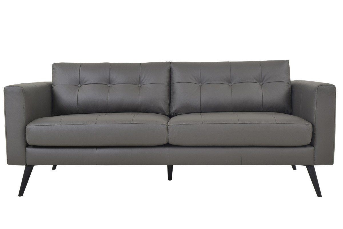 Remarkable Cortado Leather Sofa Boulder Grey Products Leather Sofa Ibusinesslaw Wood Chair Design Ideas Ibusinesslaworg