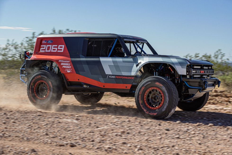 Here S The Real 2020 Ford Bronco In Off Road Racing Form Ford