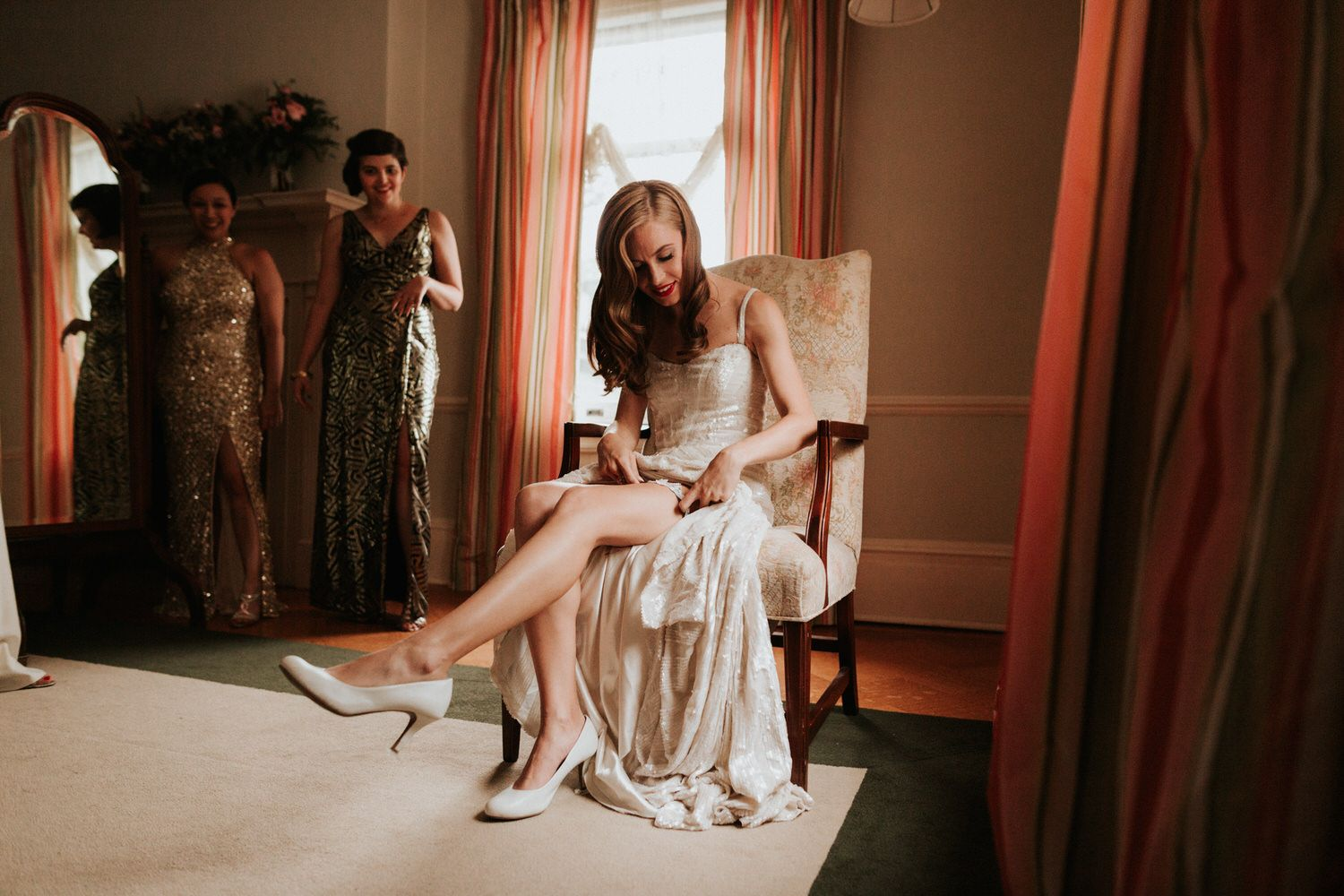 Laura + Perry // Connecticut Eolia Mansion at Harkness