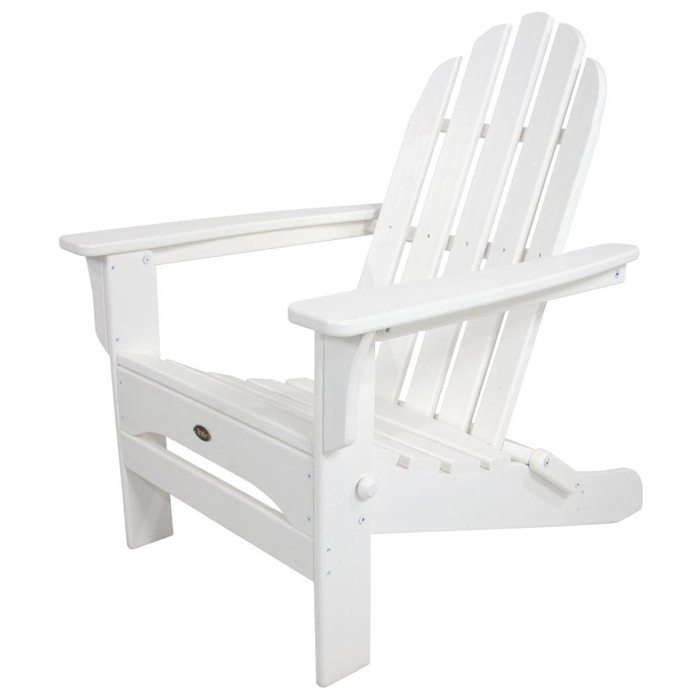 Why White Plastic Adirondack Chairs Are Better Than Wooden Ones In